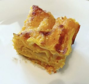 Lasagne di Zucca senza nichel