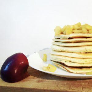 Pancakes alle mele - Ricetta senza Nichel