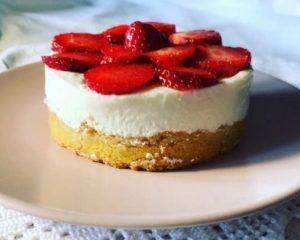 Cheesecake fredda alle fragole - Ricetta senza Nichel