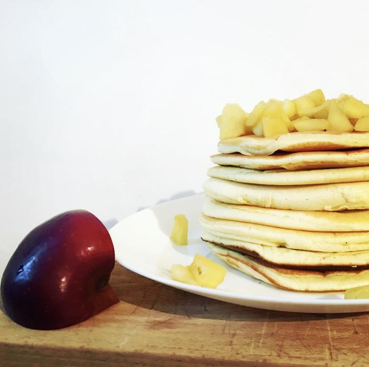 Pancakes alle Mele – Ricette senza Nichel