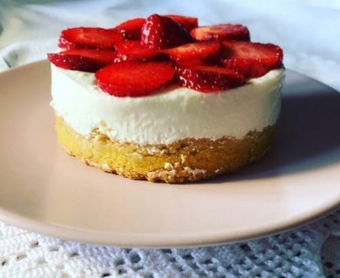 Cheesecake Fredda alle Fragole 🍓