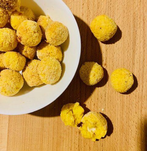 Polpette di Zucca con cuore di Asiago – Ricetta senza Nichel
